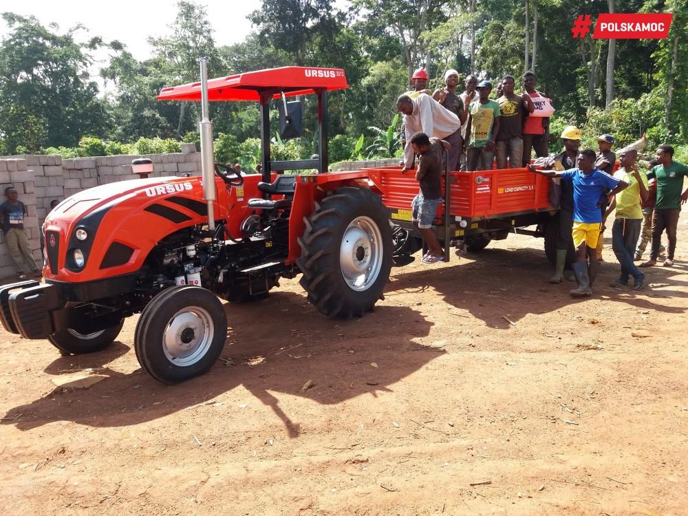 Wsparcie Ursusa dla misji w Kamerunie